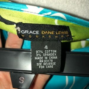 Grace Dane Lewis Workshop Skirts - Floral Print Cotton Skirt
